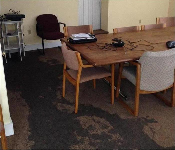 Conference Room in Amherst and a Water Loss Before