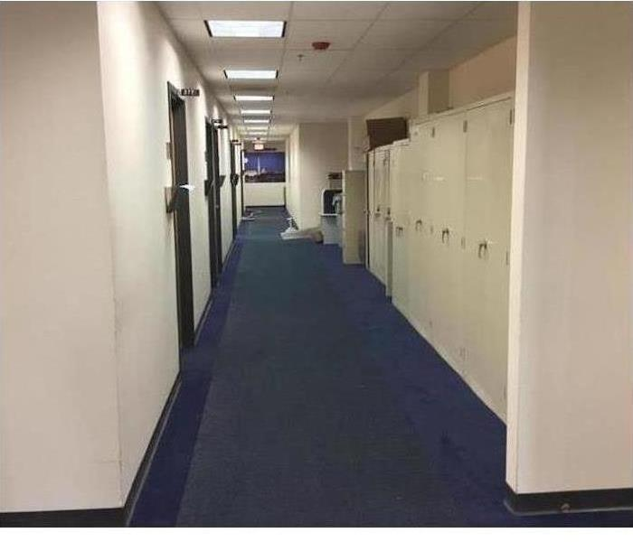 Commercial Water Damage – Merrimack Medical Facility After