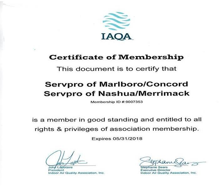Indoor Air Quality Association Membership