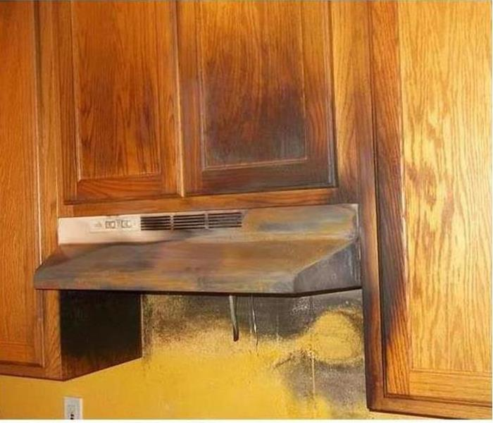 Fire damage – Merrimack Kitchen